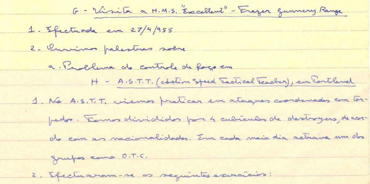 00287 955-05-21 extractos de relatório sobre diversos estágios pós exames curso TAS - 2 de 2