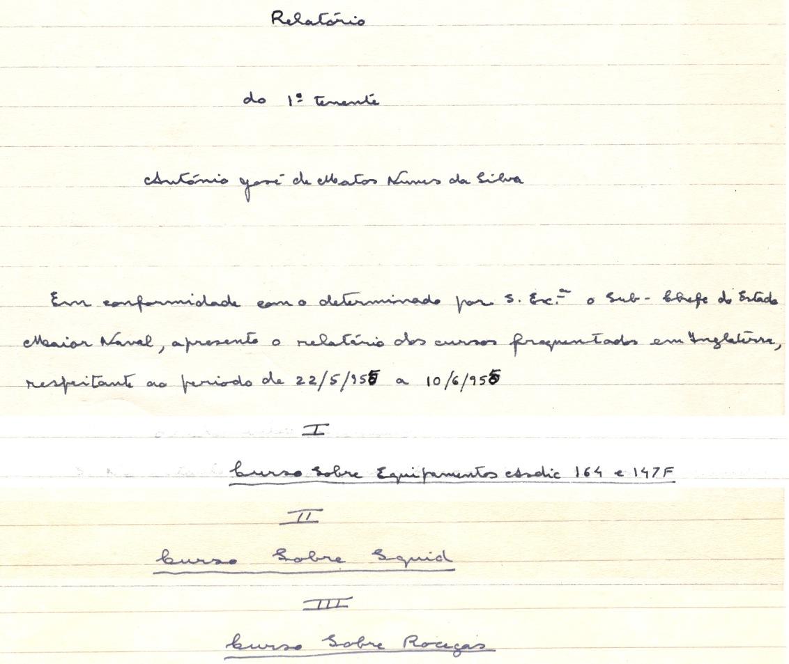 00290 955-06-10 extractos de relatório sobre cursos pós Long TAS