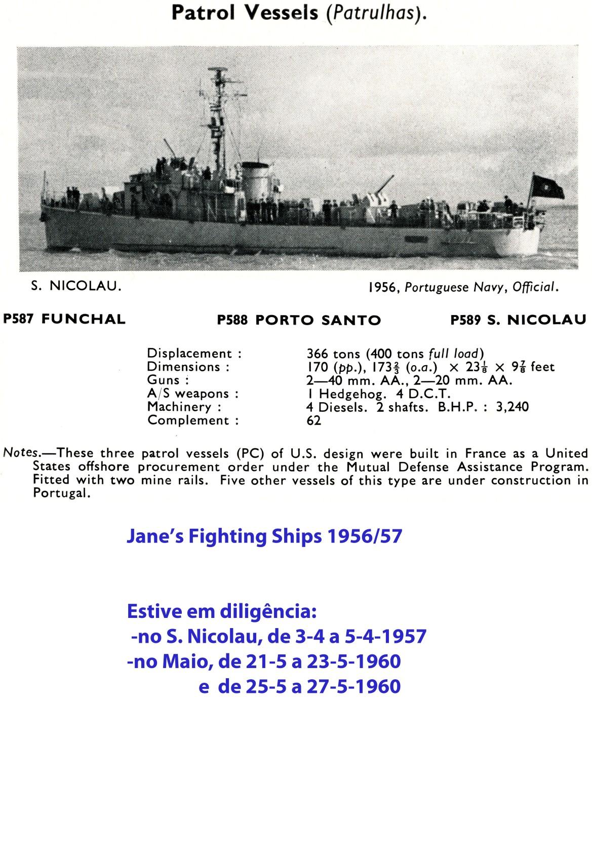 00315 Patrulhas classe Porto Santo