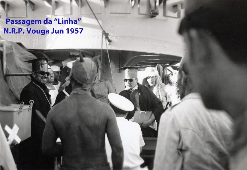 00323 957-06 Em viagem ao Brasil para escolta do PR Gen Craveiro Lopes- julgamento na passagem da linha