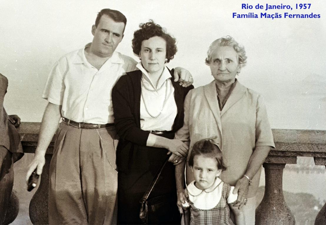 00334 957-06 primos Maçãs Fernandes e tia Marieta-Rio de Janeiro