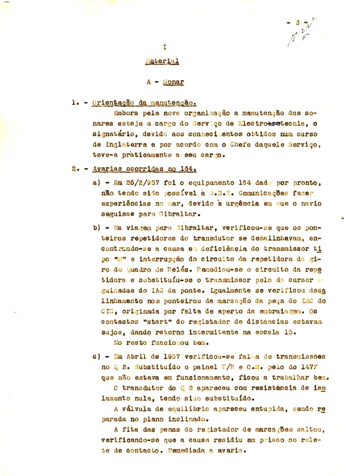 00340 57-10-21 cópia do Relatório do Chefe do Serviço de Armas Submarina do CT Vouga 1º Ten Nunes da Silva-3