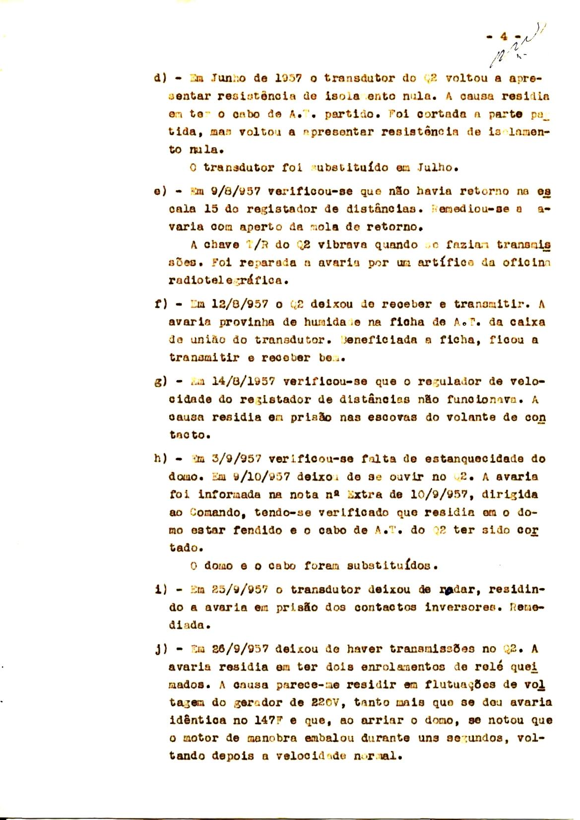 00341 57-10-21 cópia do Relatório do Chefe do Serviço de Armas Submarina do CT Vouga 1º Ten Nunes da Silva-4