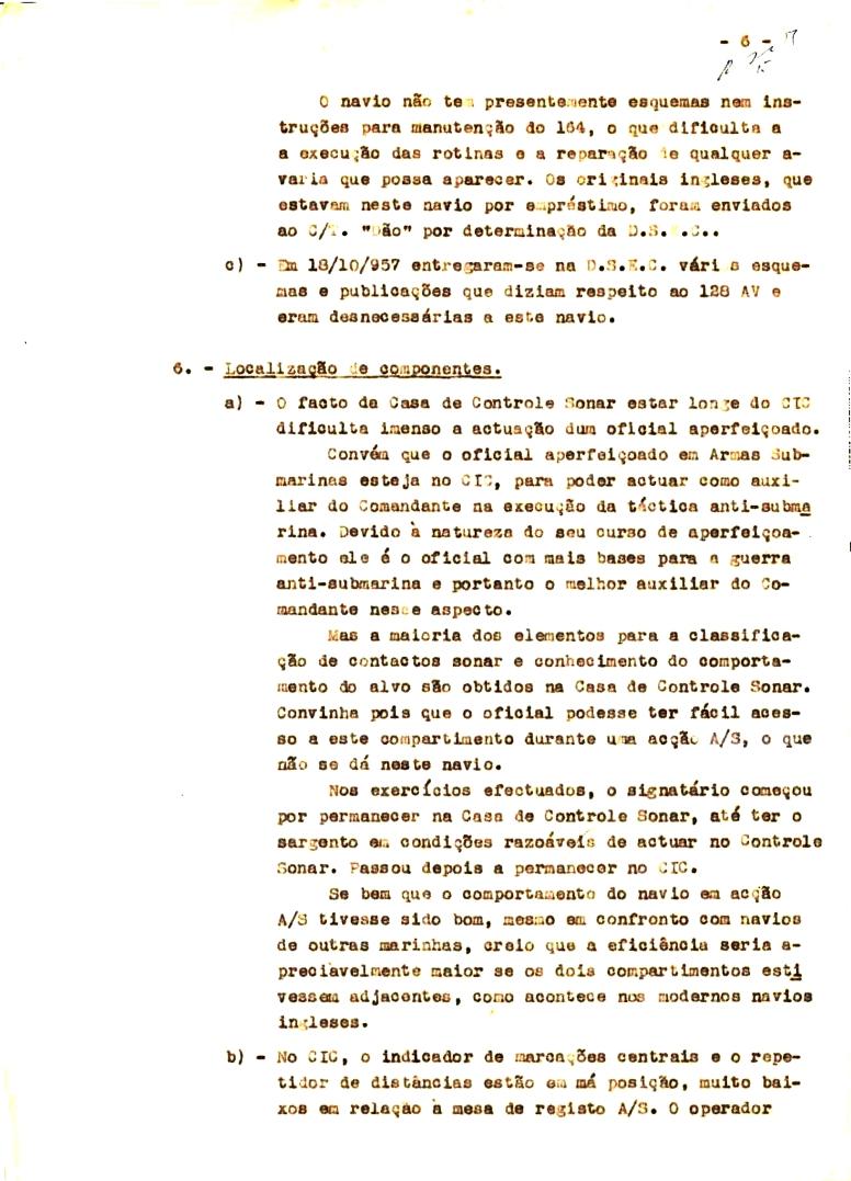 00343 57-10-21 cópia do Relatório do Chefe do Serviço de Armas Submarina do CT Vouga 1º Ten Nunes da Silva-6