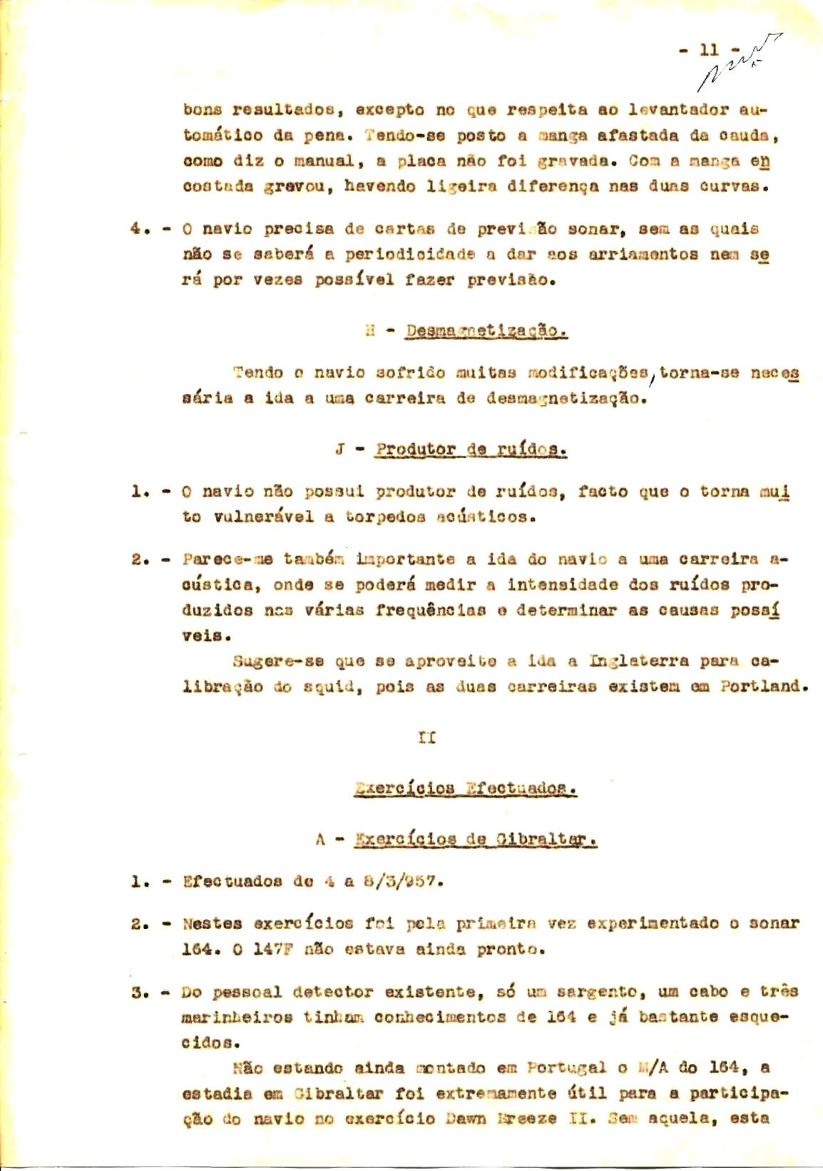 00348 57-10-21 cópia do Relatório do Chefe do Serviço de Armas Submarina do CT Vouga 1º Ten Nunes da Silva-11