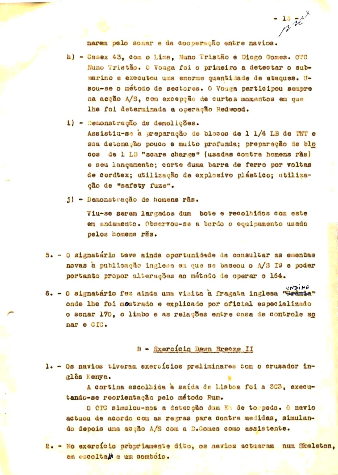 00350 57-10-21 cópia do Relatório do Chefe do Serviço de Armas Submarina do CT Vouga 1º Ten Nunes da Silva-13