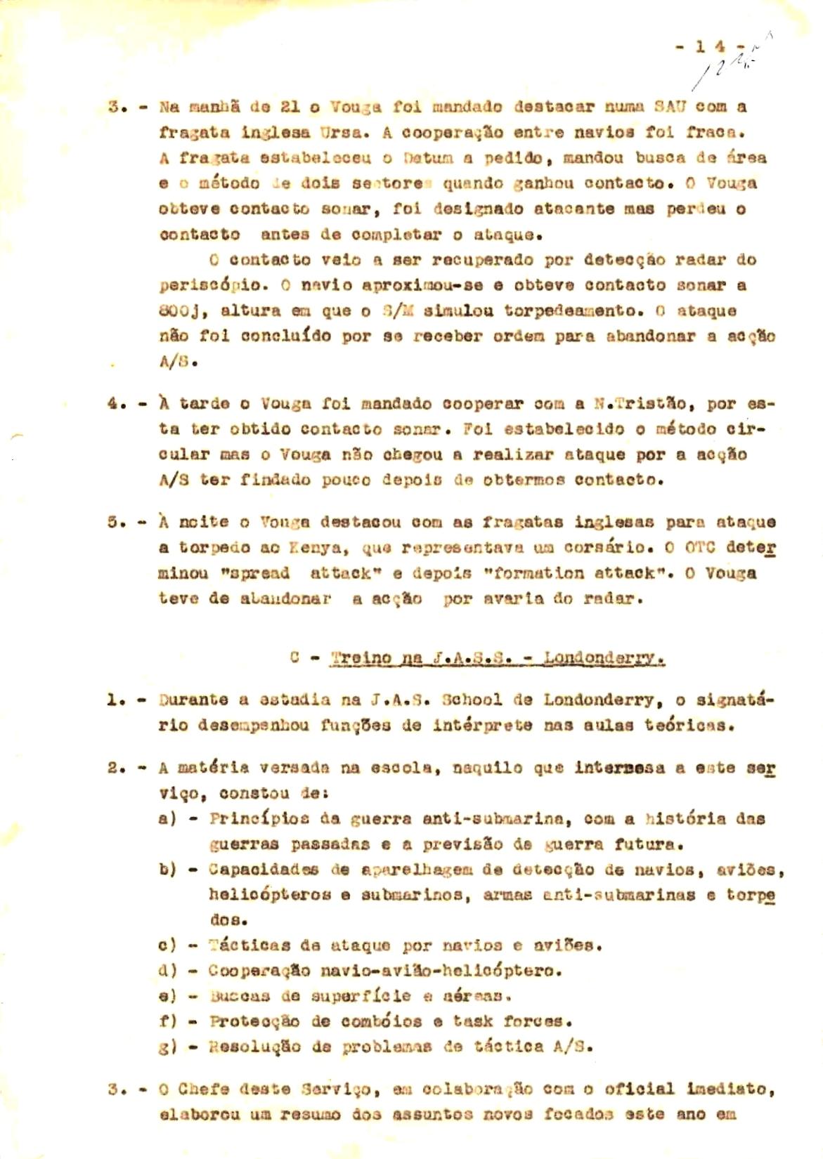 00351 57-10-21 cópia do Relatório do Chefe do Serviço de Armas Submarina do CT Vouga 1º Ten Nunes da Silva-14