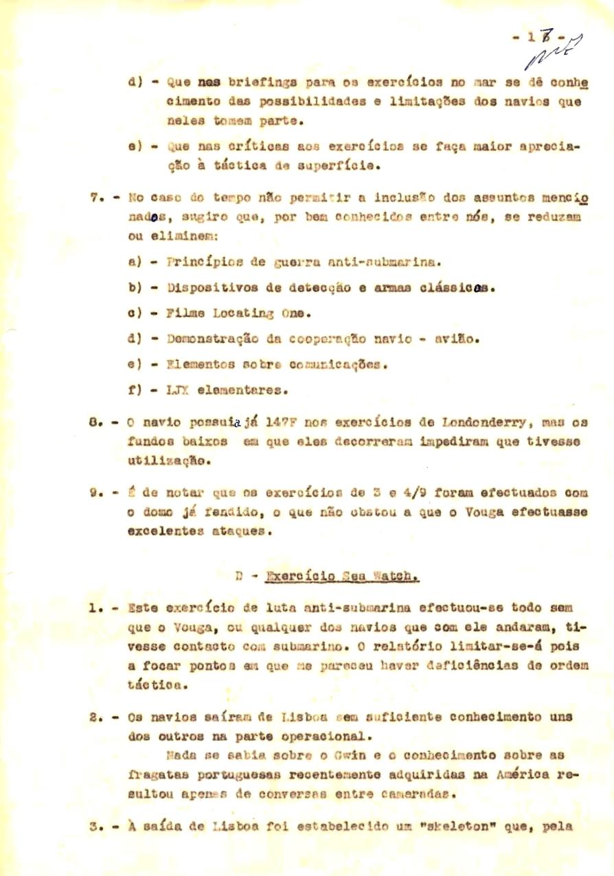 00354 57-10-21 cópia do Relatório do Chefe do Serviço de Armas Submarina do CT Vouga 1º Ten Nunes da Silva-17