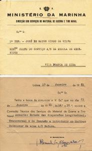 00409 961-01-17 convocado pela DSMGTN para participar na Comissão Técnica em 23-1-1961 no estudo da progra_20101113235512158