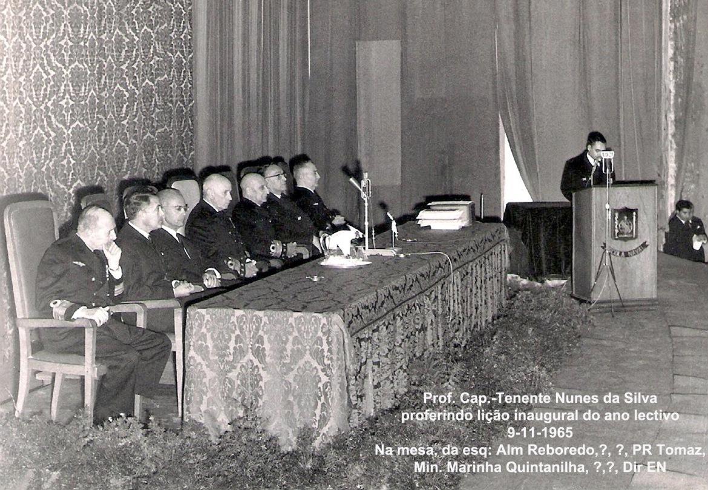 00453a 965-11-09 Lição inaugural do ano lectivo da EN, após Juramento de Bandeira do Curso Oliveira e Carmo