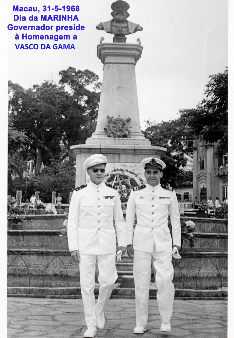 00498 968-05-31 Governador preside às cerimónias do Dia da Marinha
