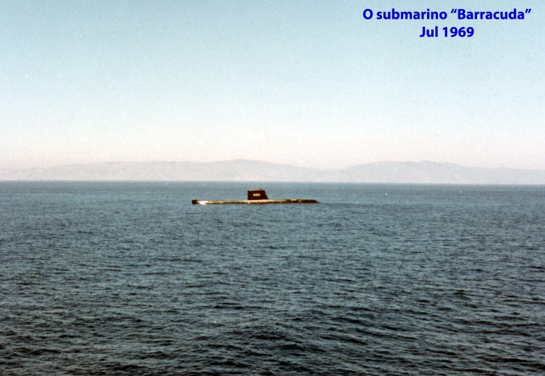 00527 969-07 O submarino Barracuda