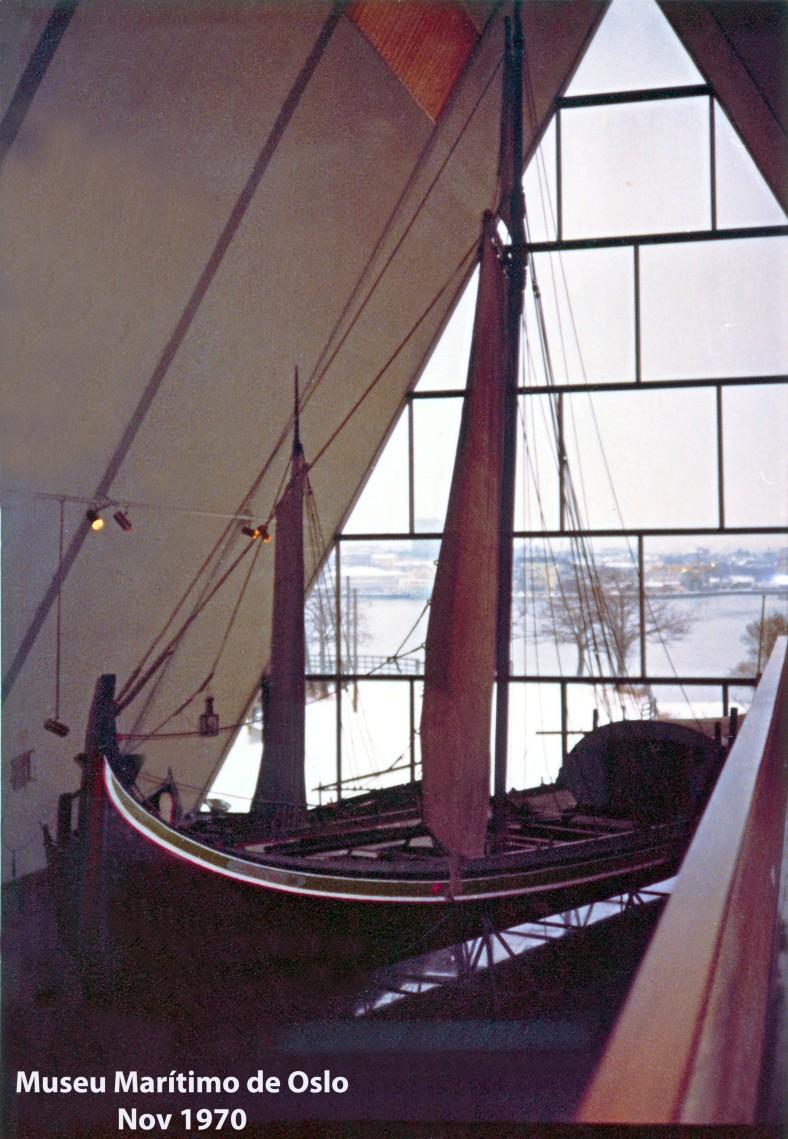 00549 970-11 embarcação no Museu Marítimo de Oslo