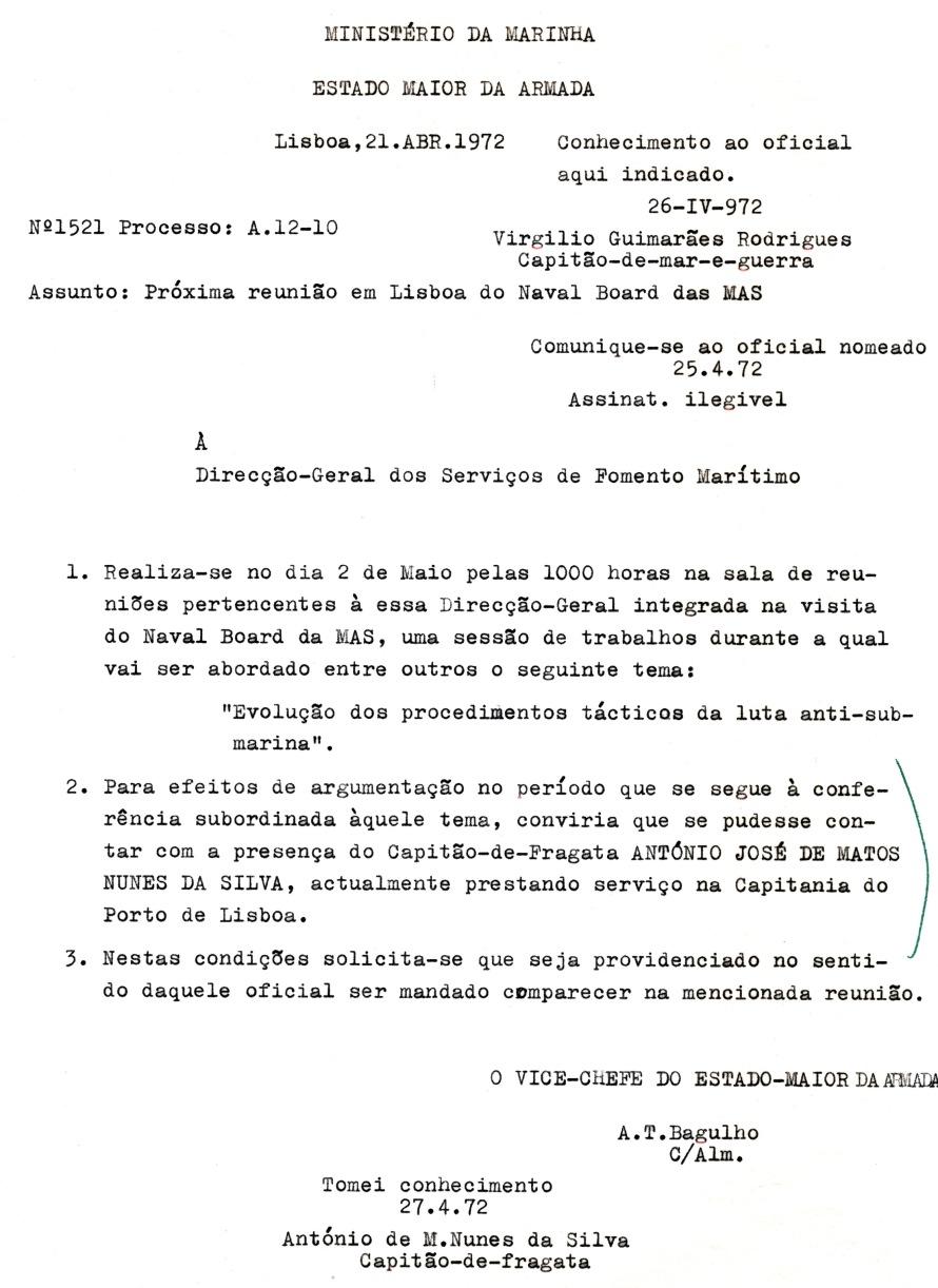 00610 972-04-21 requisitado pelo Vice-Chefe do EMA para argumentar exposição do MAS em 2-5-1972 -Nota 1521 de 21-4-72 do EMA