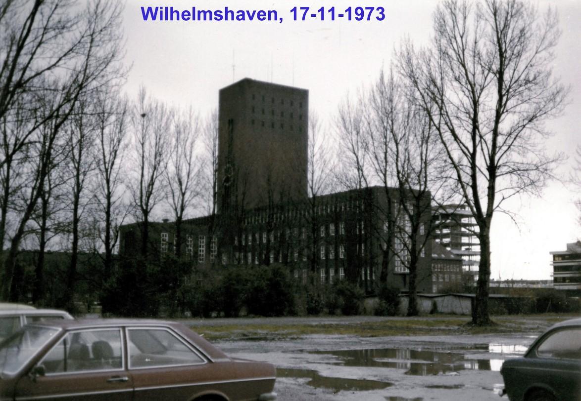 00637 973-11-17 Wilhelmshaven Norte da Alemanha