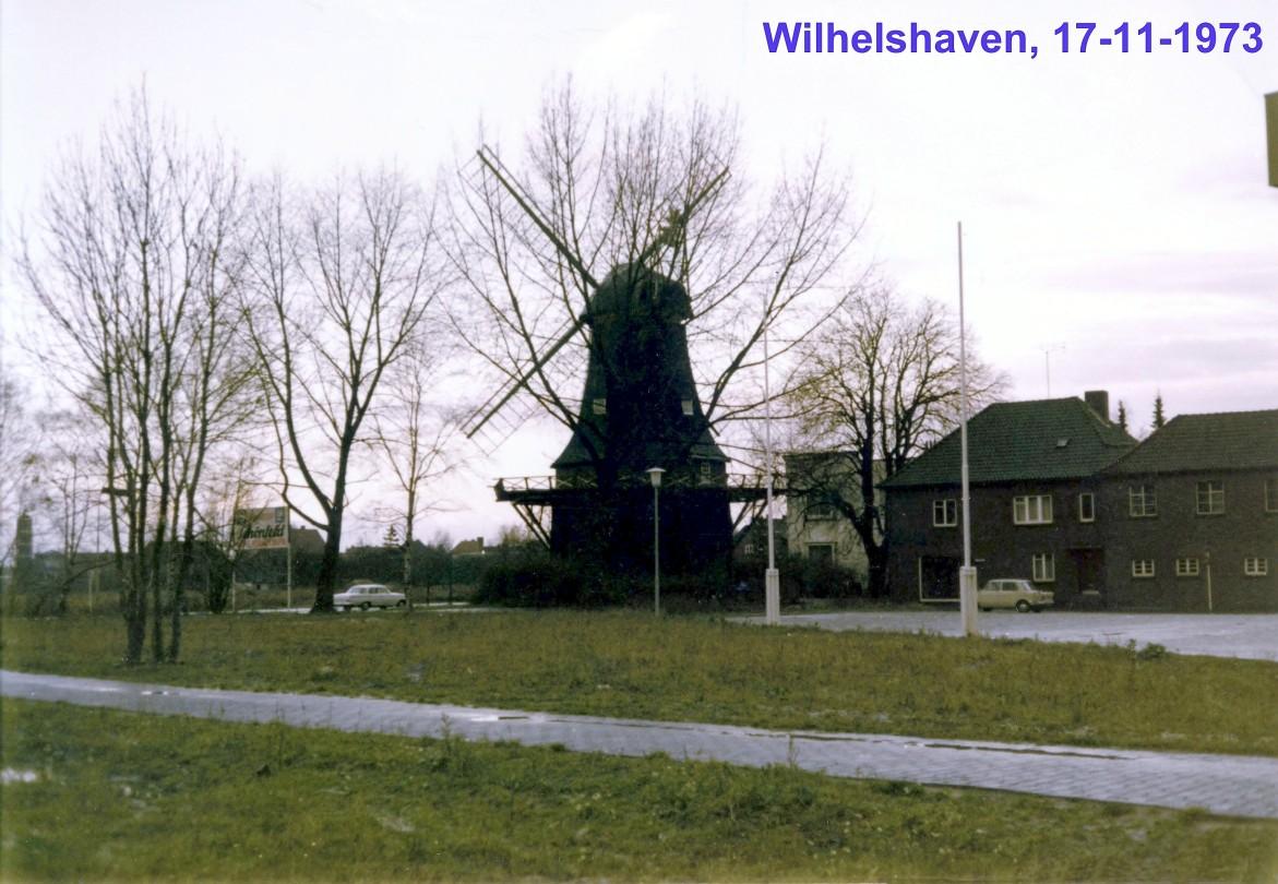 00638 973-11-17 moínho em Wilhelmshaven Norte da Alemanha