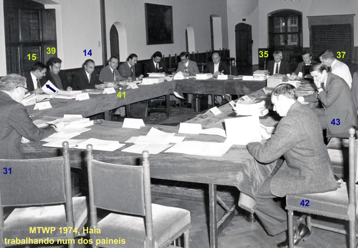 00660 974-11-18 MTWP 1974 em Haia trabalhando num painel