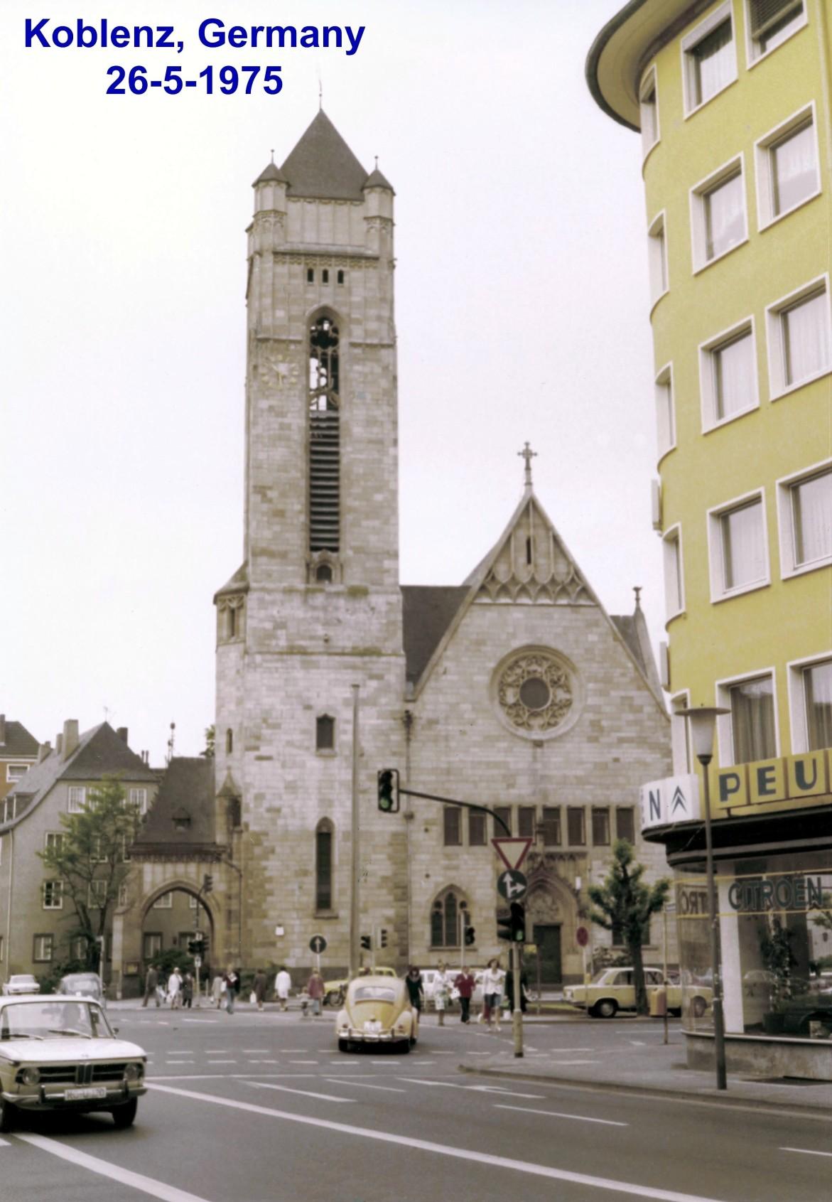 00676 975-05-26 foto de Koblenz Alemanha onde se realizou o NSWG