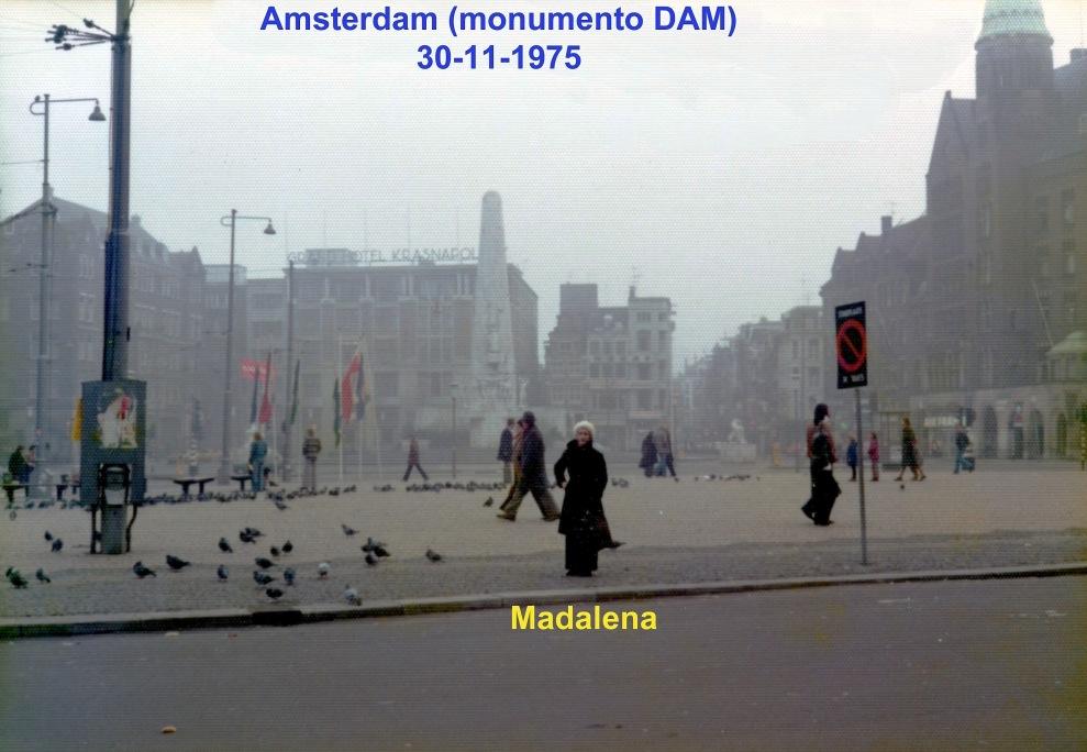 00688 975-11-30 Monumento DAM em Amsterdam