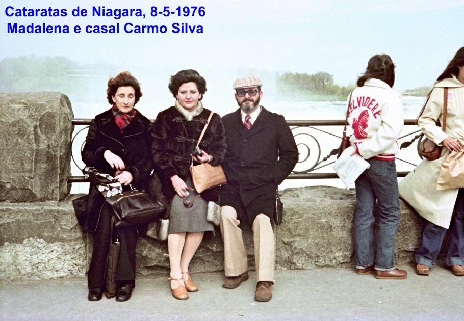 00699 976-05-08 Cataratas de Niagara -Madalena e casal Carmo Silva