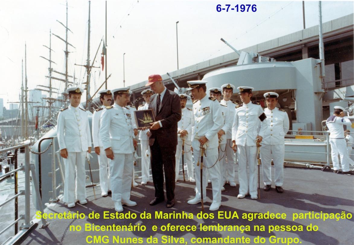00727 976-07-06 Secretário de Estado da Marinha dos EUA agradece a participação do Grupo de Corvetas no Bi_20101113235512373