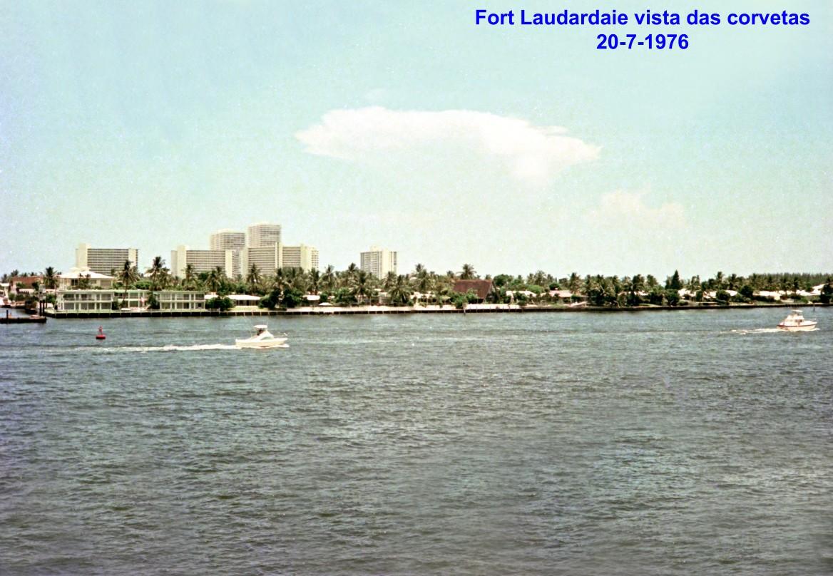 00744 976-07-20 Fort Lauderdale vista das corvetas