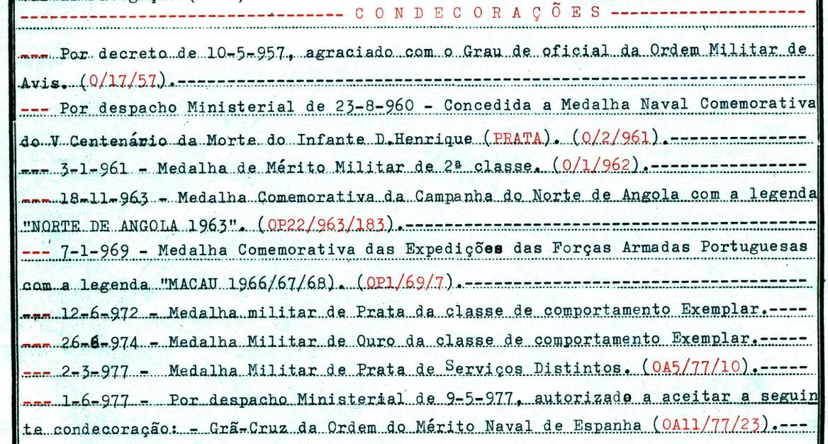 00811 977-05-09 autorizado aceitar a condecoração espanhola por Desp ministerial de 9-5-77 publicado no DR_20101113235512432