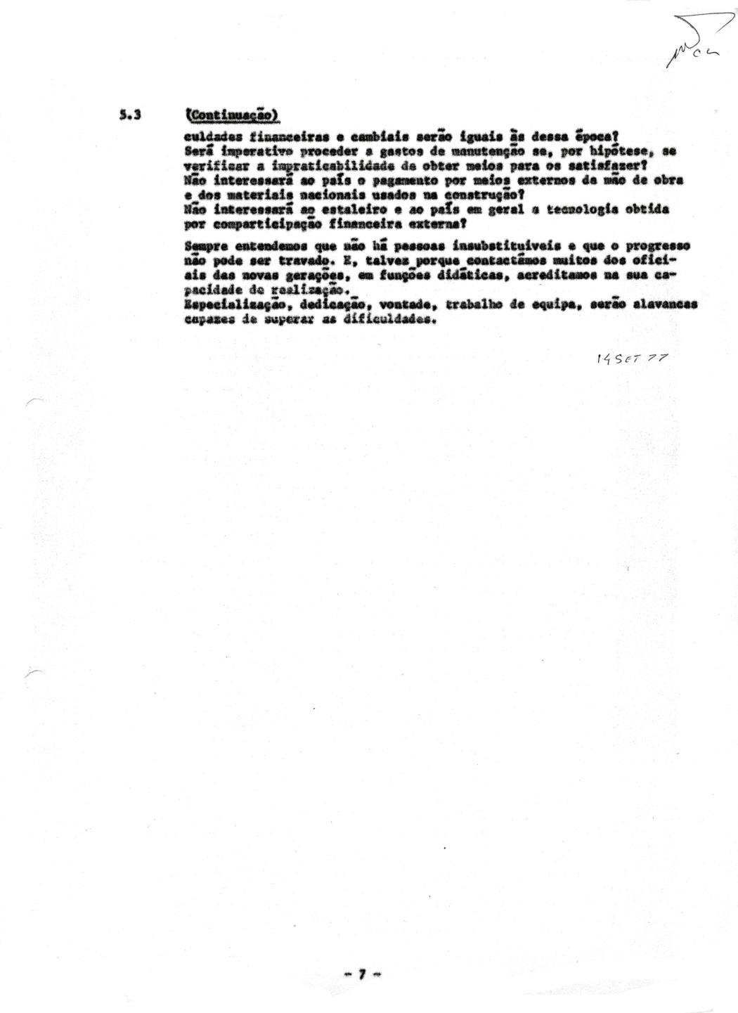 00859 977-09-14 Meu artigo Porquê Novas Fragatas publicado nos Anais do Clube Militar Naval e na Revista da Armada -pg 7 de 7