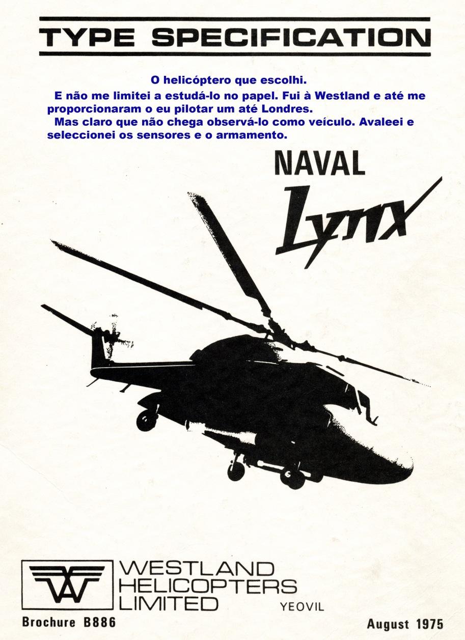 00860 977 O helicóptero escolhido