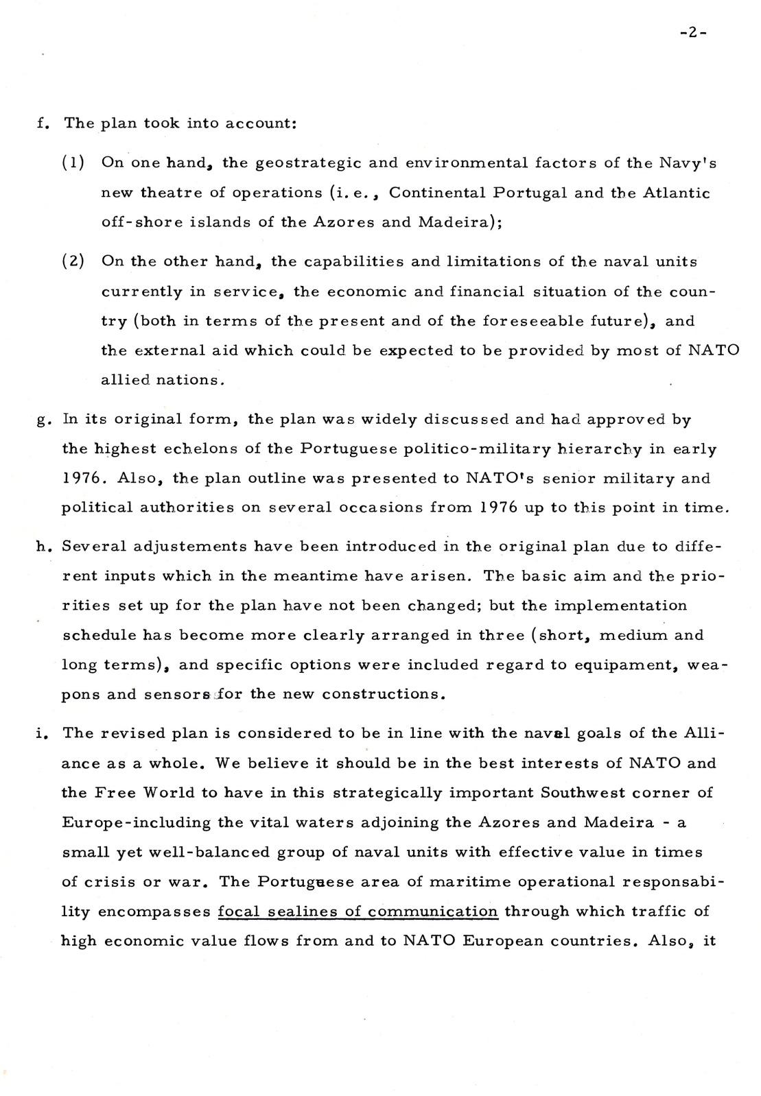 00873 977-12-12 Briefing do CAlm Nunes da Silva ao Sub Secretário da Defesa dos EUA Mr Sienna sobre o meu plano naval -pg 2