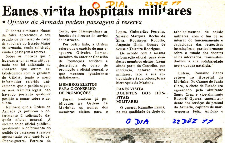 00881 977-12-22 artigo do jornal O Dia noticiando minha passagem à RA
