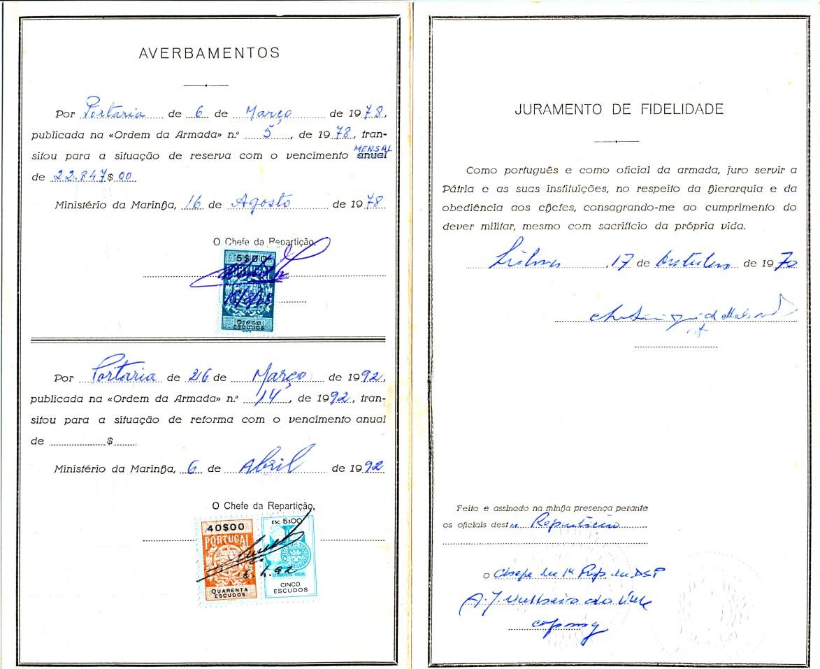 00884 978-08-16 averbamento na Carta Patente da minha passagem à RA