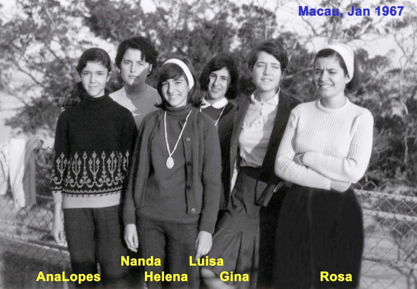 003 67-01 irmãs Ranhada com irmãs N Silva e Ana Lopes