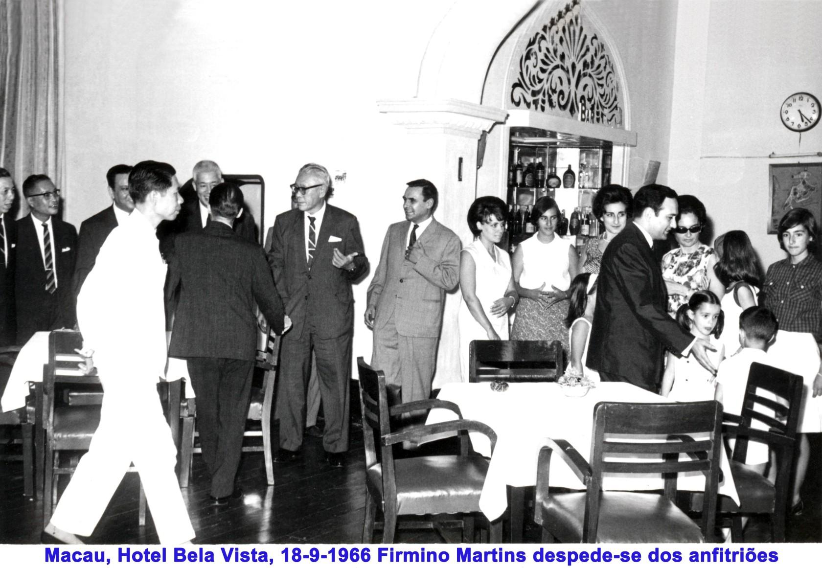 009 66-09-18 Hotel Bela Vista, Firmino despede-se