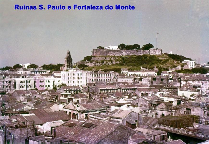 013 Ruínas de S. Paulo e Fortaleza do Monte