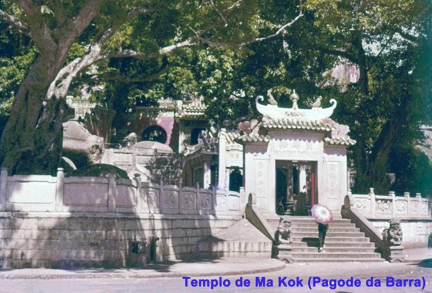 015 Templo de Ma Kok - Pagode da Barra