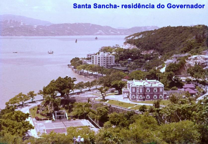 019 Santa Sancha - residência do Governador