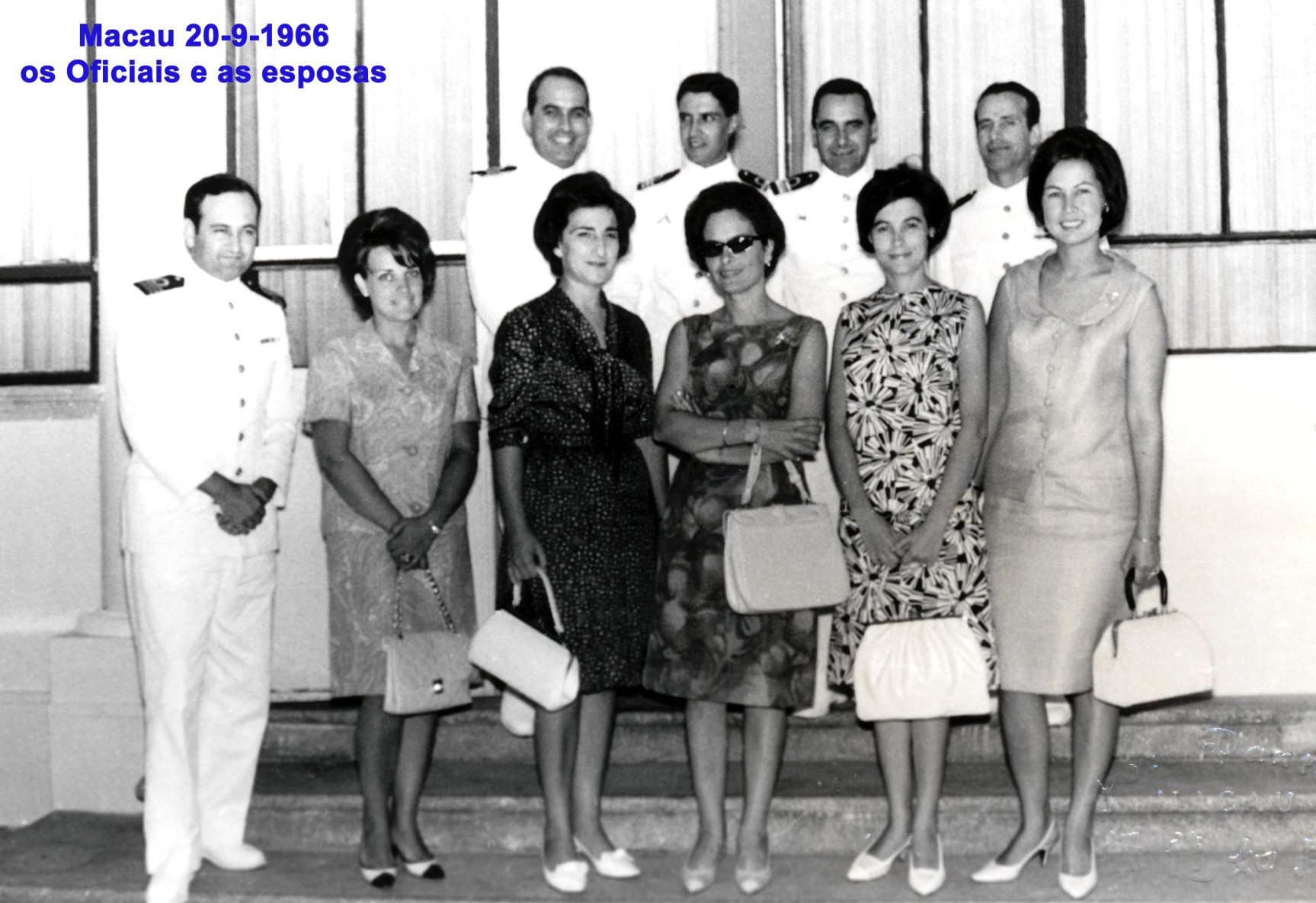 022 66-09-20 o grupo dos oficiais e esposas