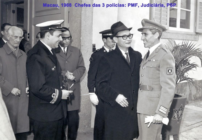027 68 Chefes das 3 polícias - PMF-Judiciária-PSP