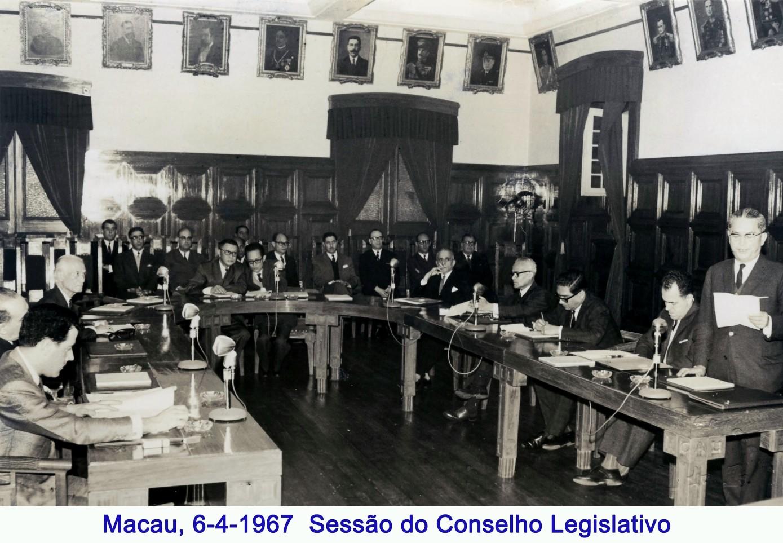 030 67-04-06 Sessão do Conselho Legislativo