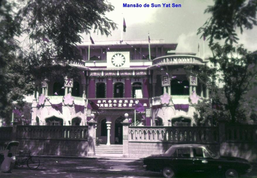 032 Mansão de Sun Yat Sen com decorações nacionalistas
