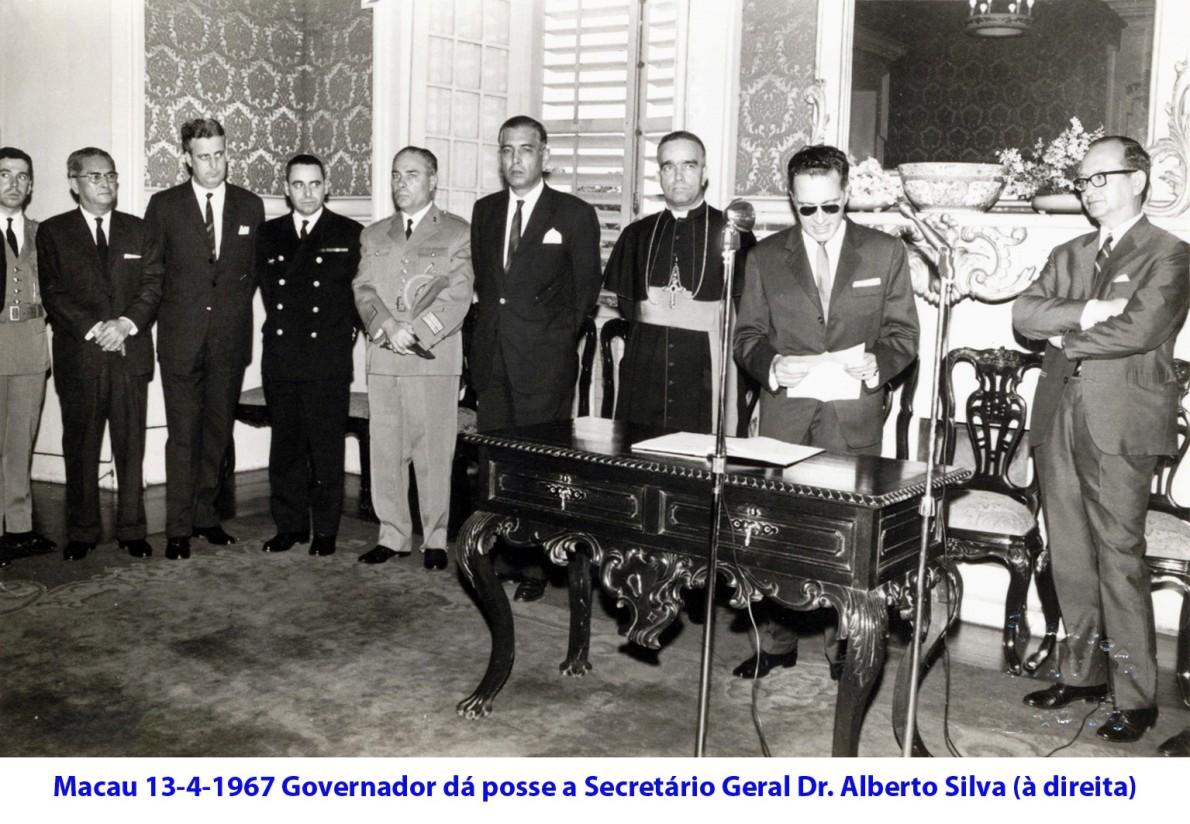 036 67-04-13 Governador dá posse ao Secretário Geral