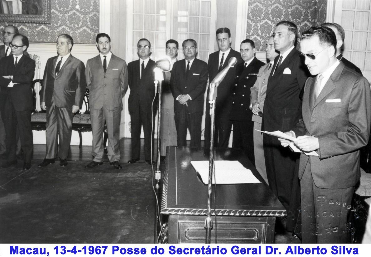 037 67-04-13 posse do novo Secretário Geral Dr. Alberto Silva