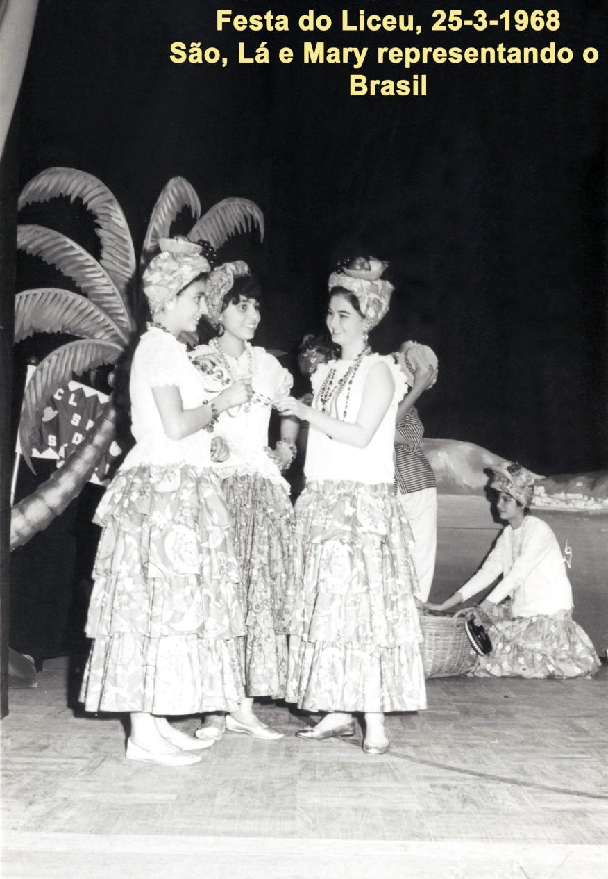 037 68-03-25 festa do Liceu-as representantes do Brasil