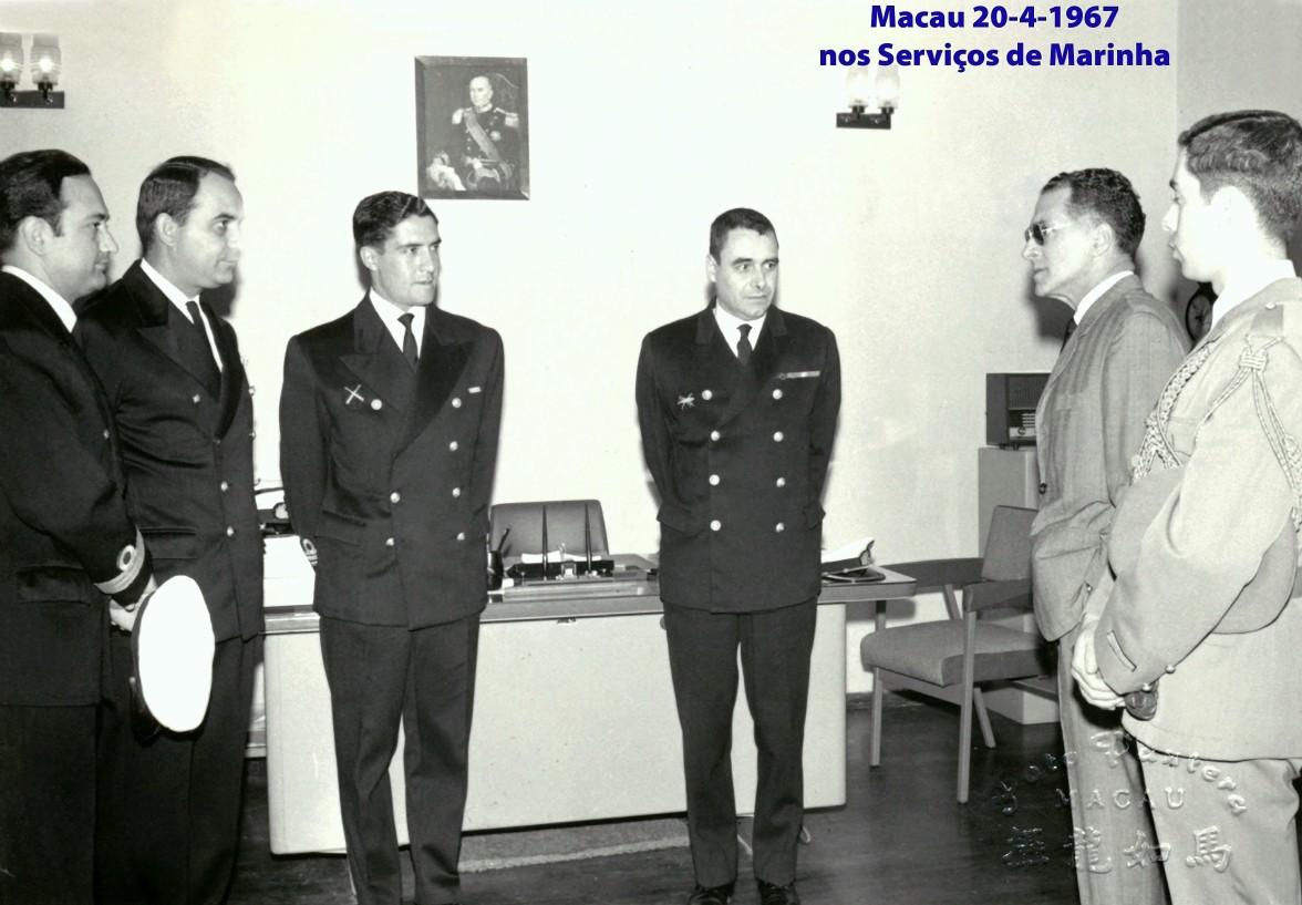 044 67-04-20 Governador conversa com os oficiais dos Serv. Marinha