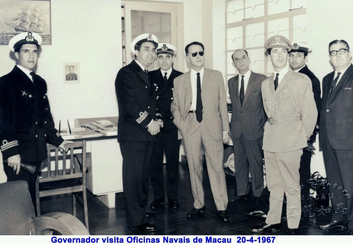 045 67-04-20 Governador visita Oficinas Navais