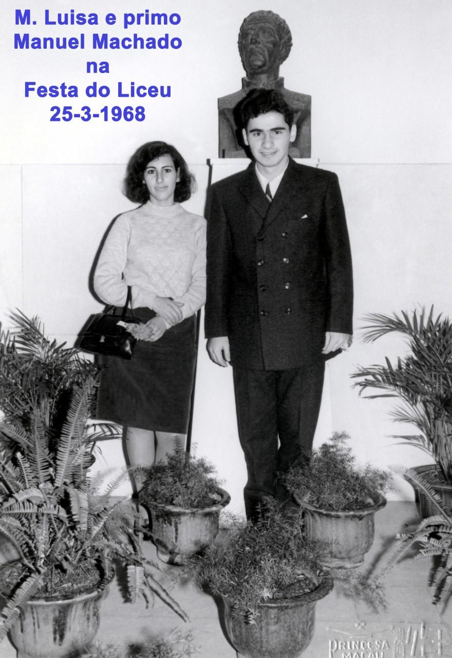 045 68-03-25 M. Luisa e primo Manuel Machado