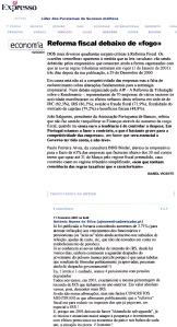 0500 Reforma Fiscal contestada, Expr onl, 11-2-2001