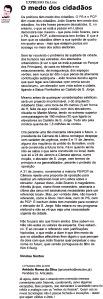 0502 O medo dos cidadãos - o elevador de João Soares, Expr onl, 12-2-2001