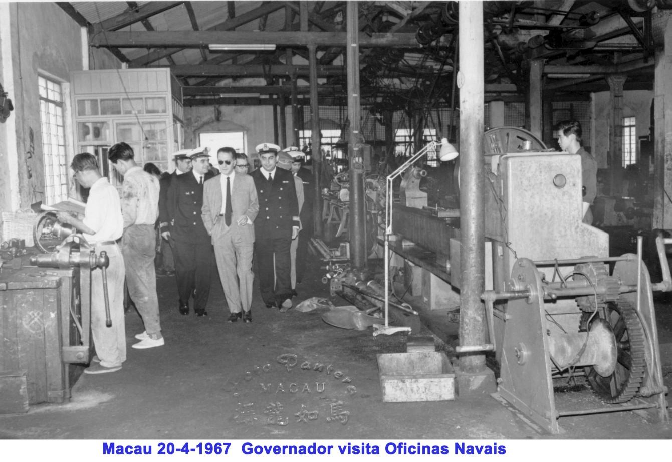 052 67-02-20 Governador visita Oficinas Navais